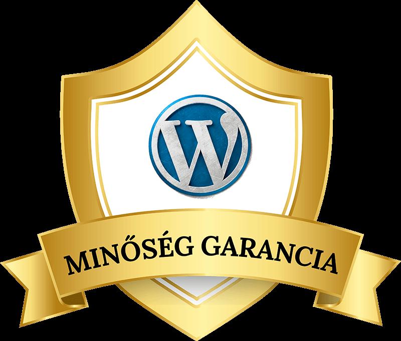 Wordpress weboldal minőség garancia