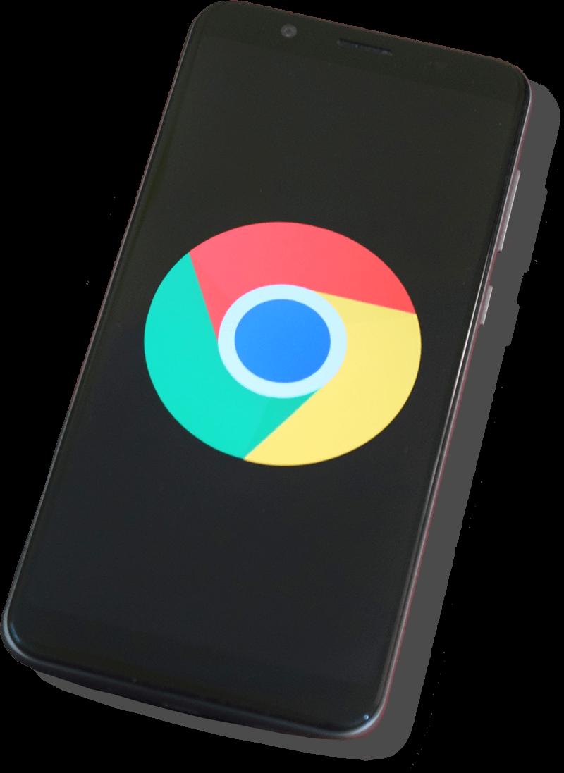 Google logo telefonon
