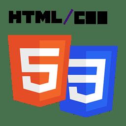 HTML / CSS logo