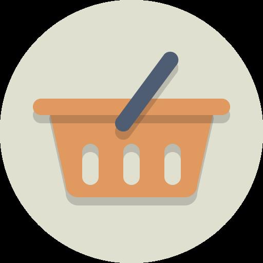 Shopping hirdetés logo ikon